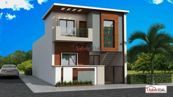 Image Result For Elevations Of Duplex Houses Small House Elevation House Elevation Kerala House Design