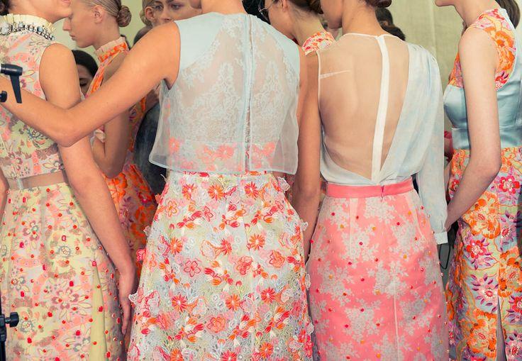 Erdem: Bridesmaid Style, Fashion Window, Style Inspiration, Erdem Ss13, Runway Inspiration, Style Pinboard, Dramas Dresses, Fashion Scene, Fashion Floral