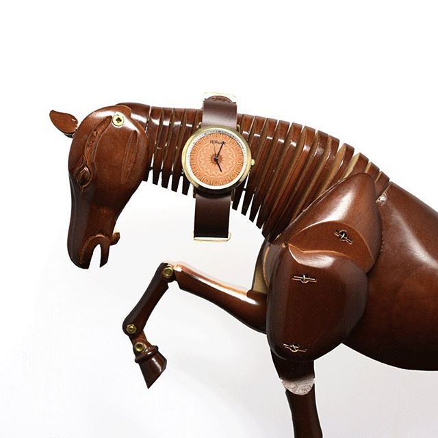 Nothing like horsing around with our 'Golden Age' watch design.  An eloquent…