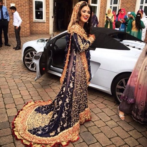 Pakistani Wedding Dress #MuslimWedding, #MuslimBridalDress www.PerfectMuslimWedding.com: