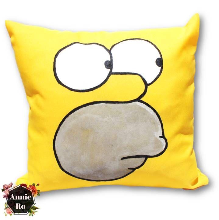 Homer Simpson pillow cushion pad decor home