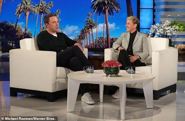 Ben Affleck Defends His Giant Back Tattoo The Ellen Show Surprises For Her Transcendental Meditation