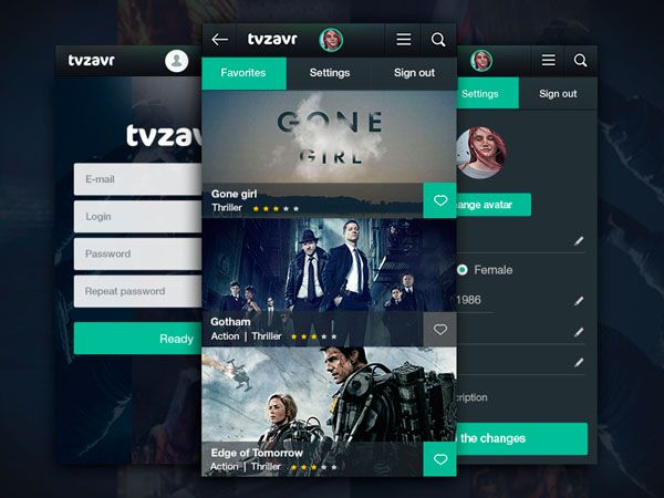 50 Creative Movie Apps UI For Inspiration - Smashfreakz