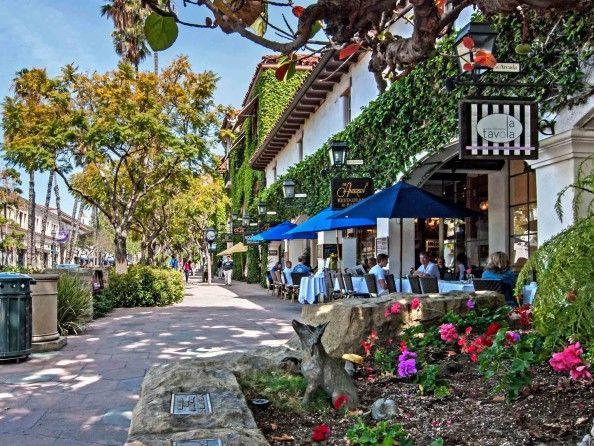 Santa Barbara, California ... would love to live here someday.