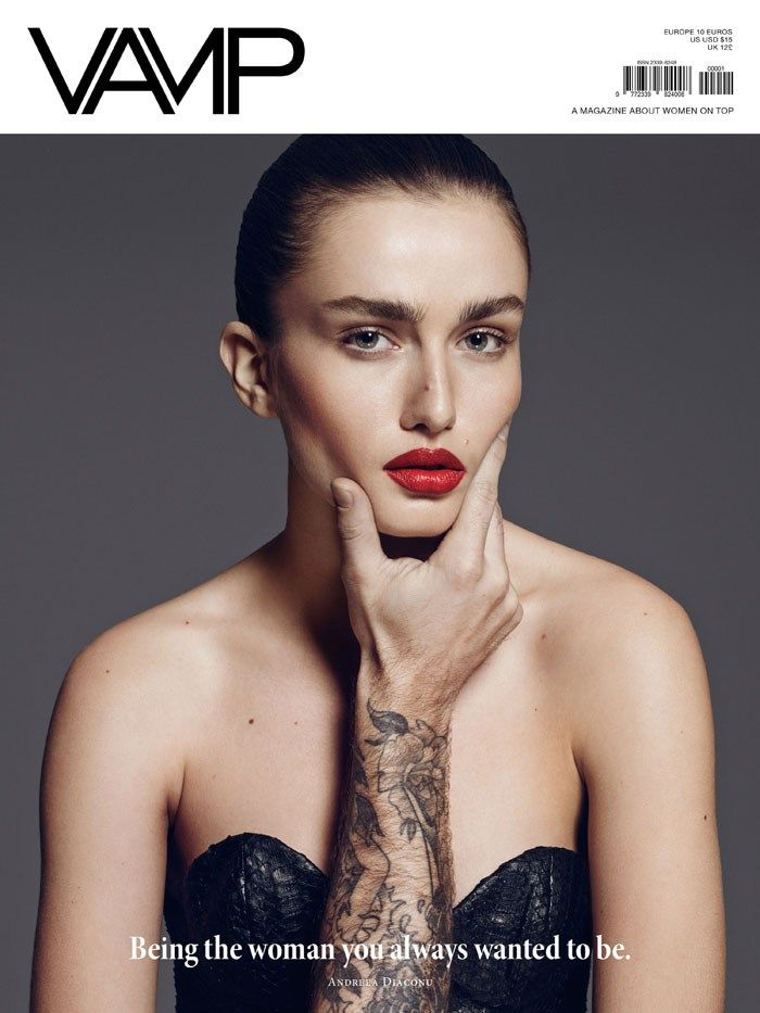 Fashiontography: Andreea Diaconu by Paola Kudacki | Vamp