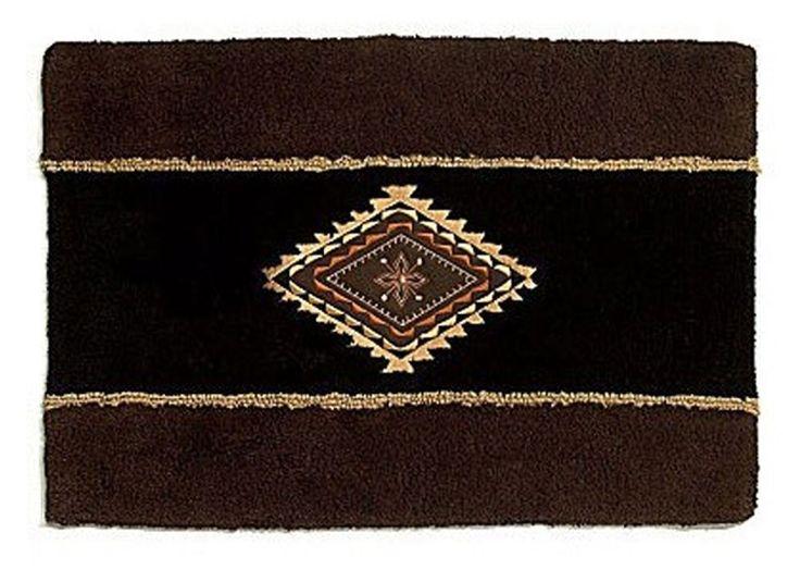 AmazonSmile: Avanti Linens Mojave Rug, Black: Home & Kitchen