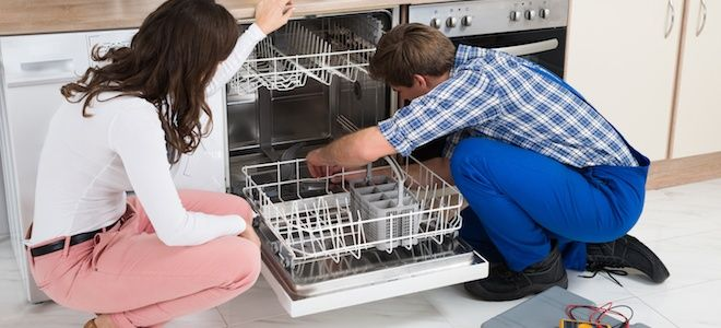 How To Unclog A Dishwasher Drain Dishwasher Repair Bathroom Floor Tiles Dishwasher Leaking