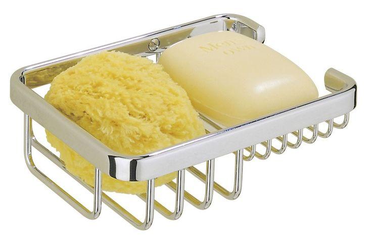 De Tiger Exquisit Sponge- / zeephouder klein uitgevoerd in chroom is dé oplossing voor het organiseren van zeep, shampoo en douchegel in de badkamer. Met de bijgeleverde bevestigingsmaterialen is de korf eenvoudig op de gewenste positie op de muur te bevestigen. De Exquisit serie bestaat uit een groot aantal korven voor de badkamer waardoor er voor iedere situatie een oplossing voorhanden is.