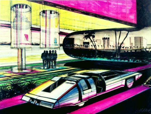 danismm:David McIntosh Design for Concept Car 1964...