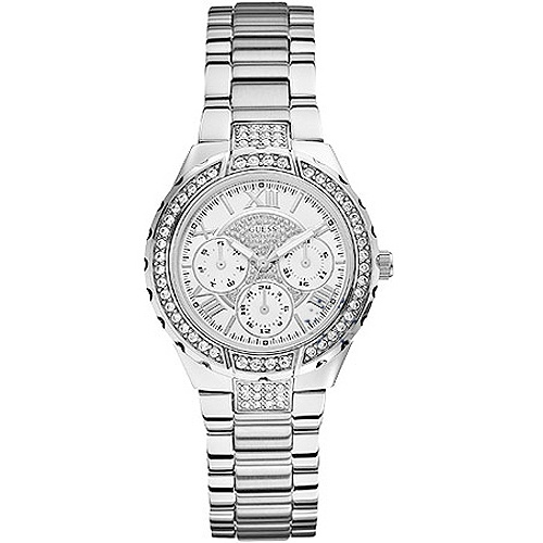 GUESS Vivacious Crystal Stainless Steel Bracelet Μοντέλο: W0111L1 Η τιμή μας: 160€ http://www.oroloi.gr/product_info.php?products_id=30452