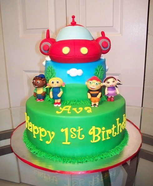 Little Einsteins Cake - by CakesbyKimNC @ CakesDecor.com - cake decorating website