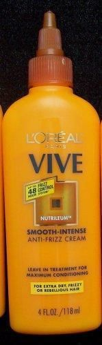 L'Oreal Paris Vive Smooth-Intense Anti-Frizz Cream 4oz #loreal