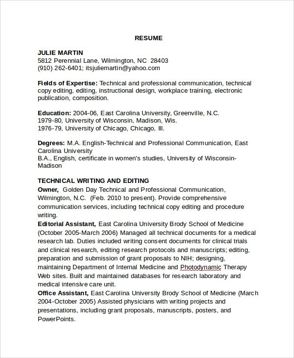 resume templates copy and paste 1  templates example