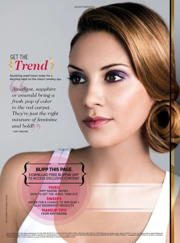 Blipp for exclusive beauty tips #Olay