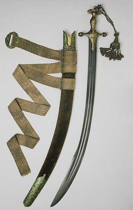 Sword of Dara Shikoh.      Dated: 1640-1641.     Place of Origin: Lahore, Pakistan.   Copyright 2013 © V&A Images
