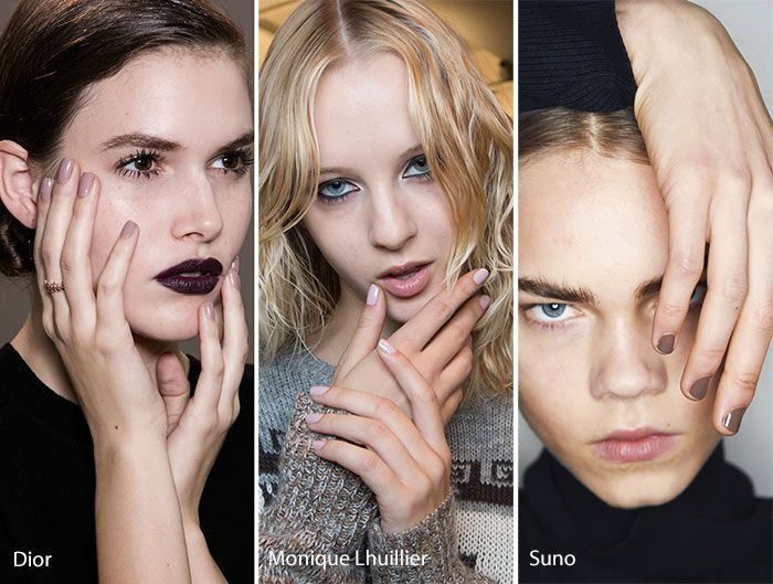 Fall Winter 2016 2017 Nail Trends Beauty Nails