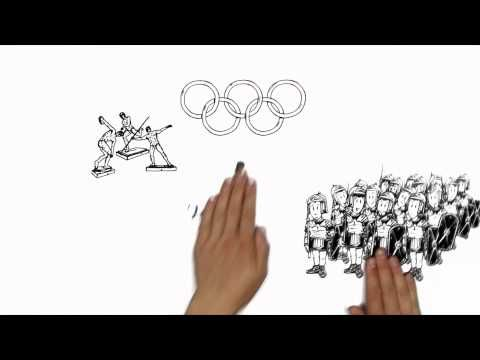 The simpleshow explains the Olympic Games - part one : History (1) vidéo 1mn50