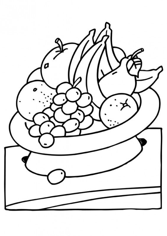 Galerry coloring pictures of fruit