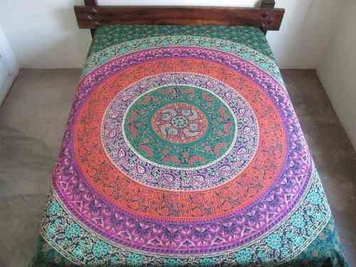 Colcha Indiana Casal Mandala - R$ 112,00 - http://produto.mercadolivre.com.br/MLB-767138246-colcha-indiana-casal-mandala-_JM