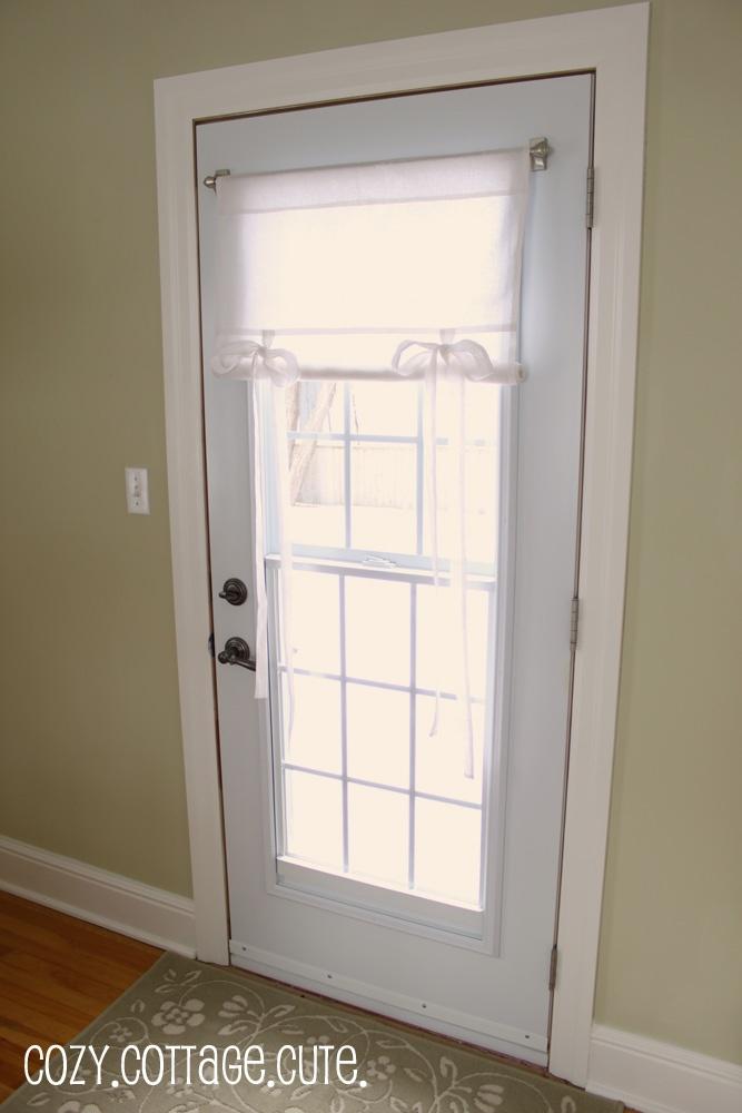 Curtain ideas back doors and curtains on pinterest for Door curtain ideas