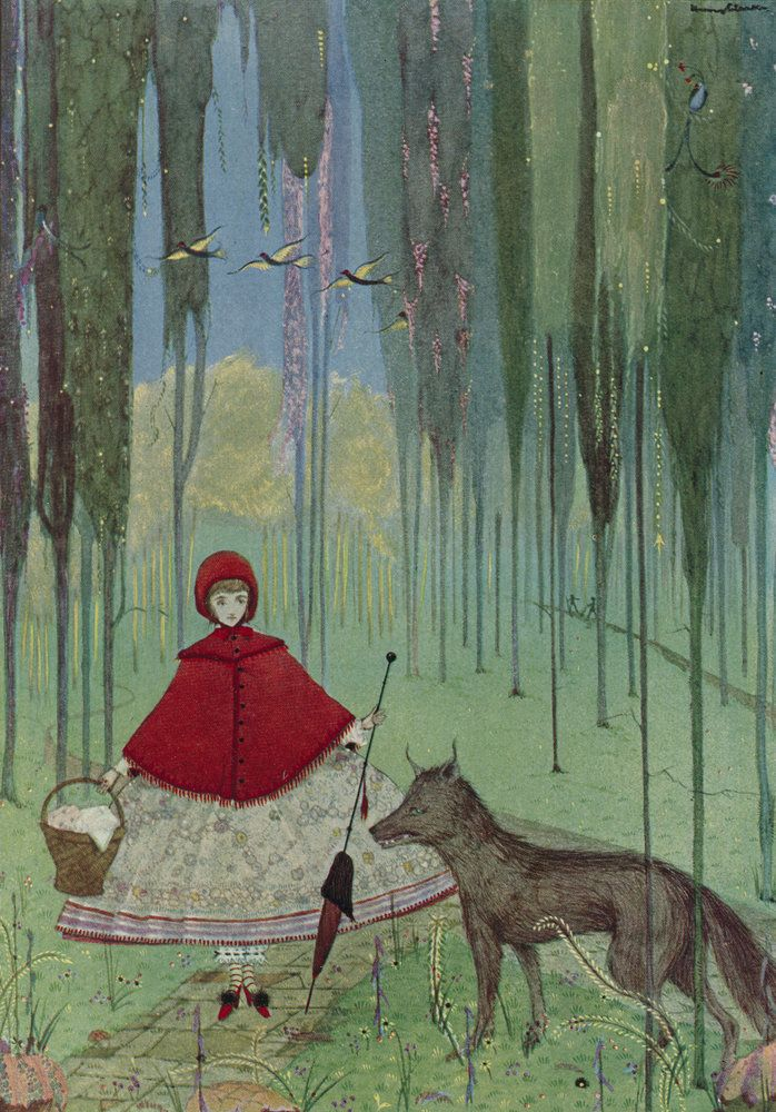 harry clarke red riding hood - Google Search
