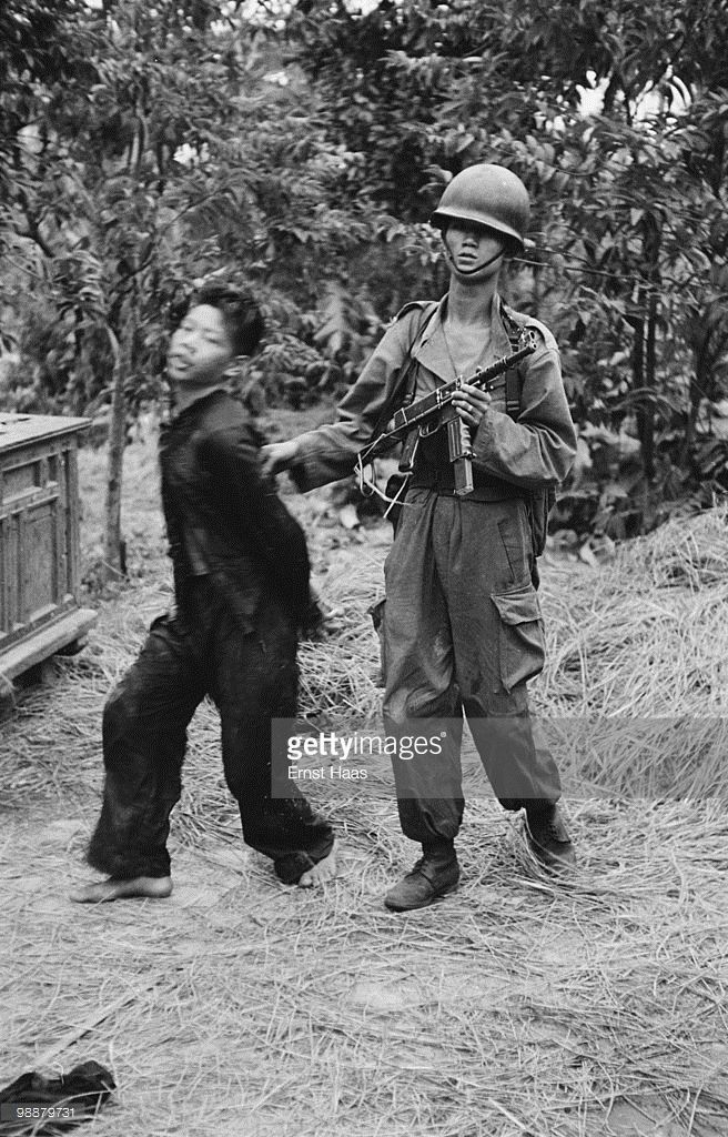 The French Foreign Legion in Indochina at the end of the First Indochina War, 1954.