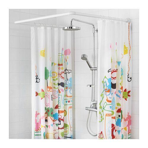 Les 25 meilleures id es de la cat gorie rideau douche sur for Tringle et rideau de douche