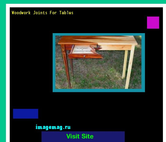 Woodwork Joints For Tables 151230 - The Best Image Search