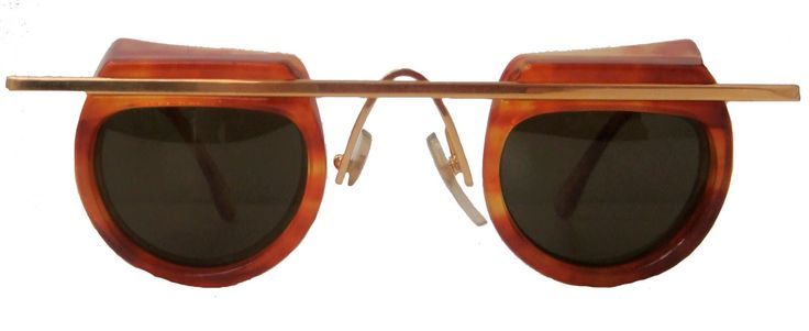 Funky glasses by Alain Mikli