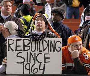 Oh my beloved Cleveland Browns...