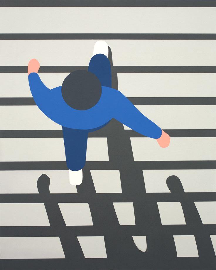 Geoff McFetridge / Meditallucination #painting #illustration