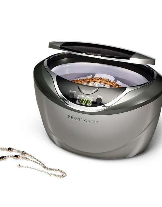 Our Ultrasonic Jewelry Cleaner makes your jewelry sparkle like new without harsh chemicals.: Features Guide, Ultrason Jewelry, Gifts Ideas, Cleaners Features, Jewelry Cleaners, Custom Review, Understands Jewelry, Well Understands, Christmas Gifts