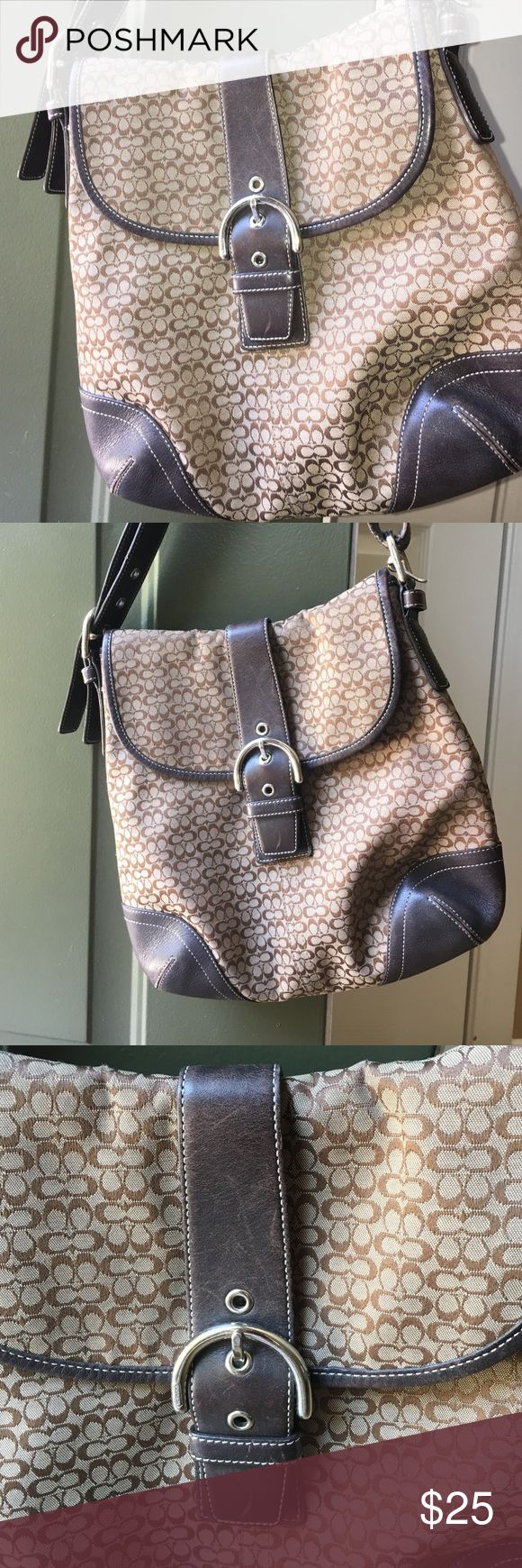 Coach Legacy Shoulder/Messenger cross body Brown coach purse!! Original and in great condition. See photographs.authentic Coach Bags Shoulder Bags
