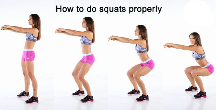 #8: Make sure that your body weight is acting on your heels and not on your toes so that you can squat deeper.