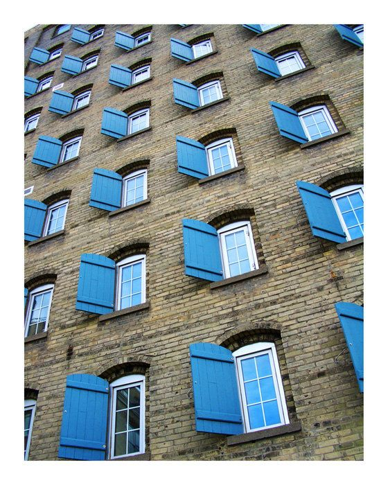 Seagram Building, Kitchener Ontario  via Etsy.