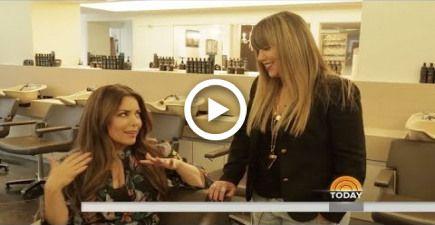 Rita Hazan on the Today ShowLock + Block Summer Hair Hacks
