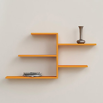 Faba Wall Shelves Orange, 60€, now featured on Fab.