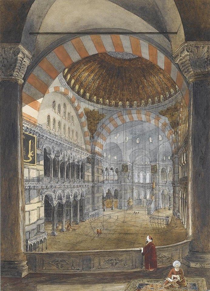 Hagia Sophia-Ayasofya  via nevin kurtay www.armadaistanbul.com www.armadaistanbulculture.com