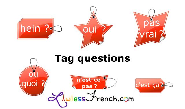 French tag questions