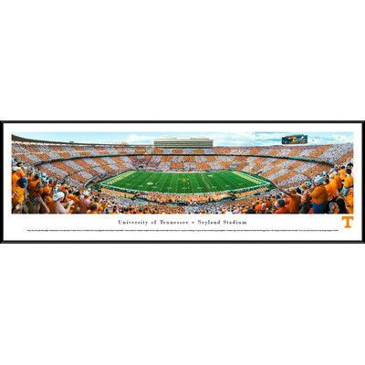 BlakewayPanoramas NCAA Tennessee, University of - Football - 50 Yard Line by Robert Pettit Framed Photographic Print