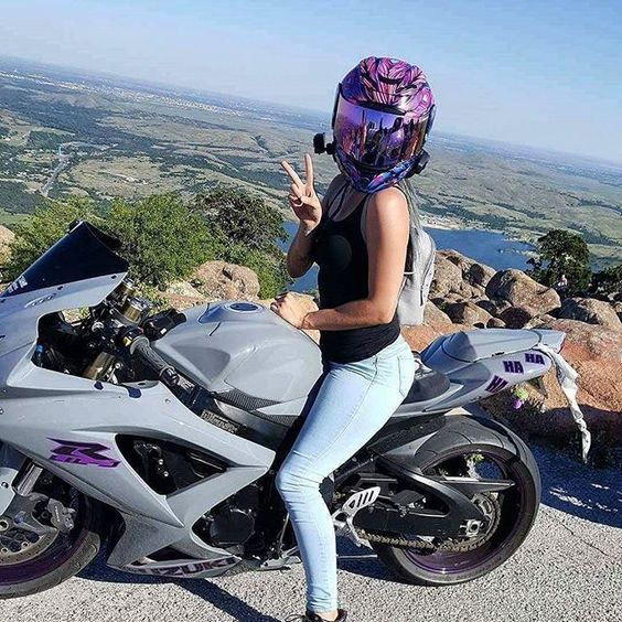 545 Best Women On Motorcycles Images On Pinterest