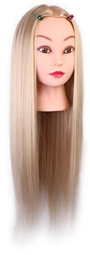24inch Cosmetology Mannequin Heads Training Practice Styling Cutting Mannequin Head Blonde Hair Color Manikin Training Head http://www.amazon.com/dp/B00R80BHDY/ref=cm_sw_r_pi_dp_T1i8ub0X8XW26