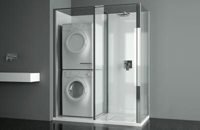 Oltre 20 migliori idee su porte de douche su pinterest - Integrale badkamer ...