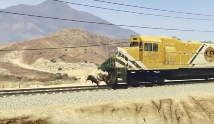 GTA 5 Used To Remake RDR2 Announcement Trailer