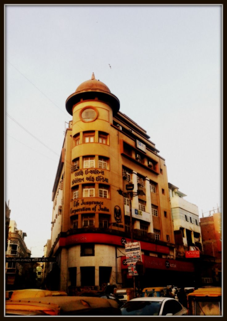 circling around the corners of the street #Ahmedabad