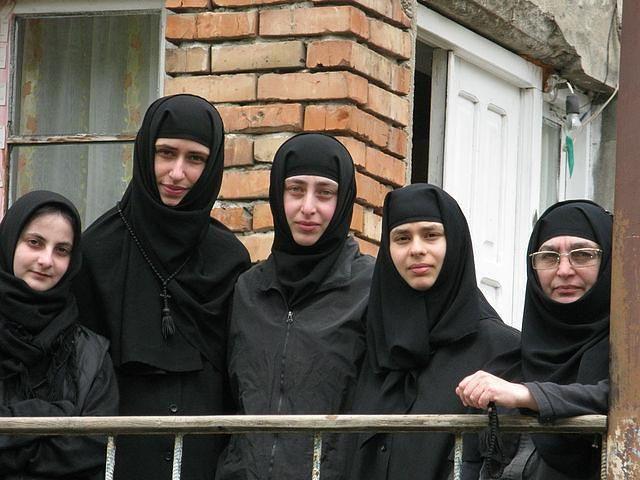 Orthodox nuns This is true beauty!