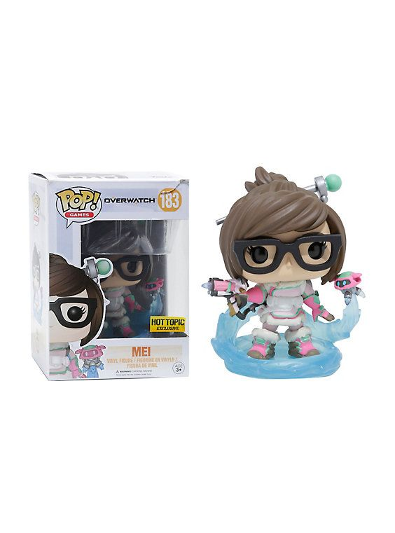 Funko Overwatch Pop! Games Mei (Mid-Blizzard) Vinyl Figure Hot Topic Exclusive,