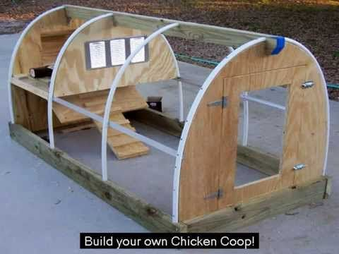 Chicken House Plan - Do it yourself - YouTube