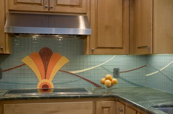 Art deco kitchen backsplash kitchen pinterest art for Art deco kitchen design ideas