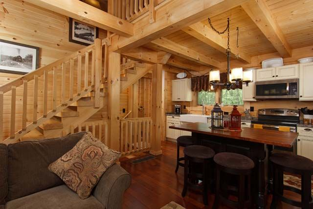 Log Home Designs Open Kitchen Living Area on open living dining space, luxurious open house designs, open space home designs, open floor plan house designs, space room designs, open kitchen living dining room designs,